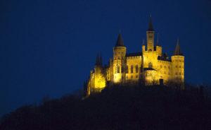 Foto von der Burg Hohenzollern bei Tübingen