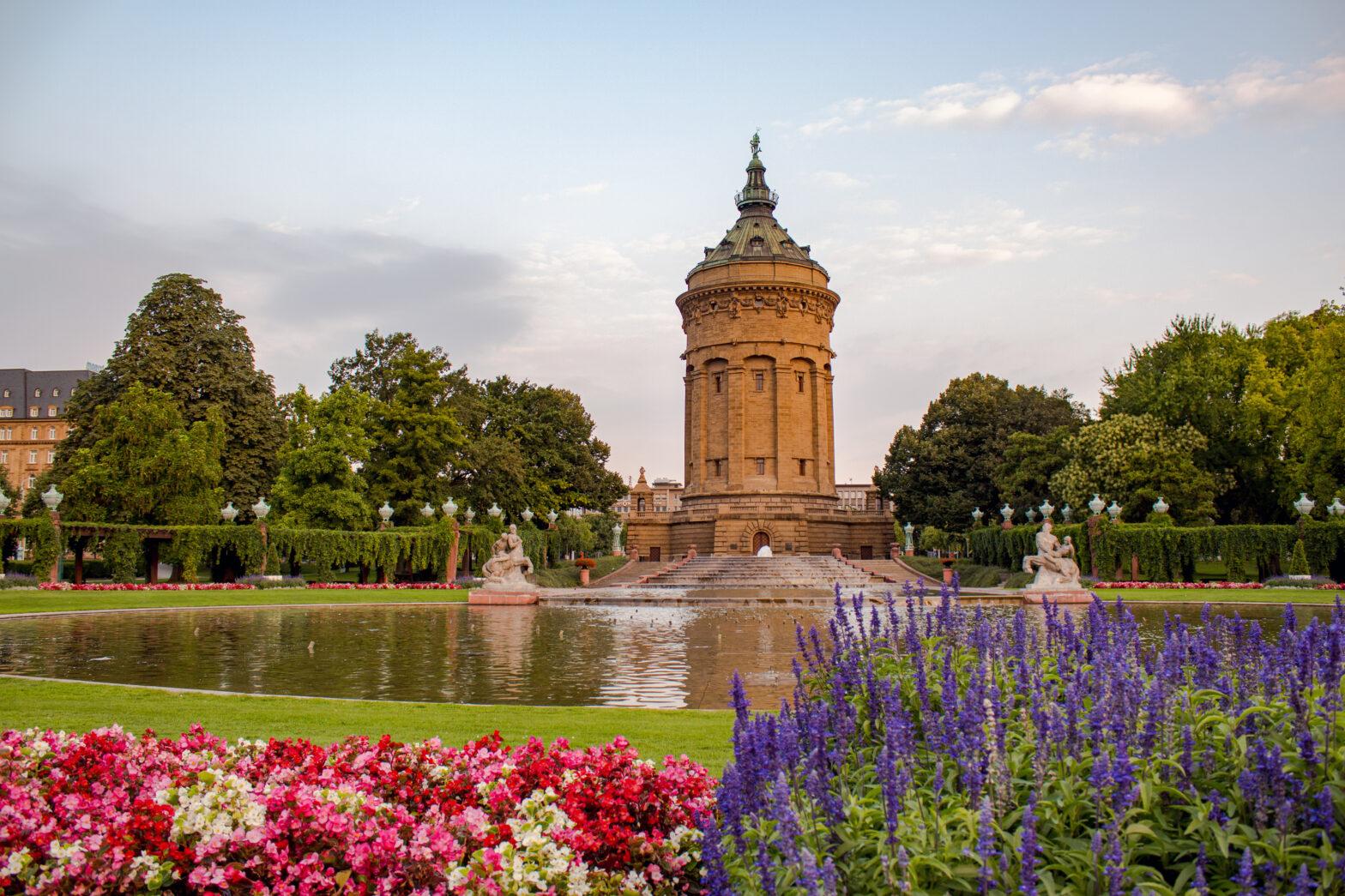 Wasserturm in Mannheim, Germany